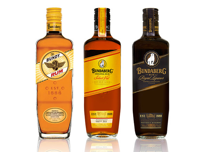 designidentity_bottling_foodanddrink_bundaberg_alcohol_flat_lay_product_photography